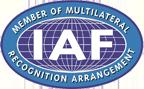 IAF | Member of Multilateral | Recognition Arrangement